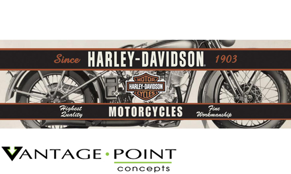 Vehicle Graphics Rear Window Graphics Harley Davidson