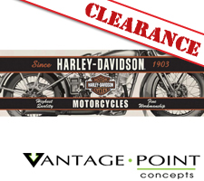 Harley-Davidson Series - Vintage Motorcycle Truck or SUV Rear Window Graphic