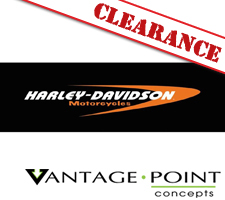 Harley-Davidson Series - Crescent Logo Color Truck or SUV Rear Window Graphic