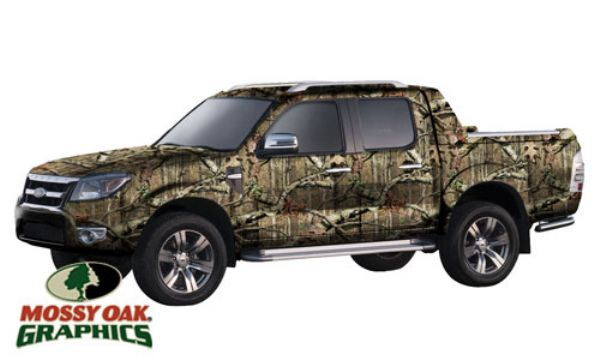 6227  pact Truck Full Vehicle Wrap By Mossy Oak Graphics on custom truck wraps