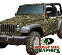 Jeep (2 DR) Full Vehicle Wrap by Mossy Oak Graphics