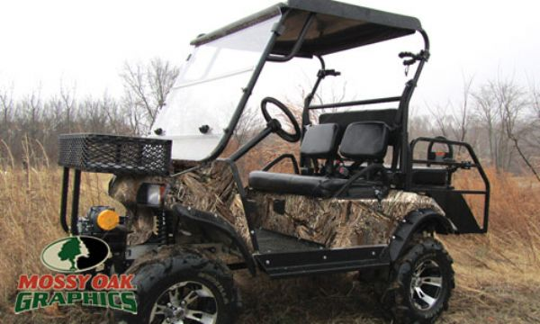 Vehicle Graphics Camouflage Graphics Golf Cart Camo