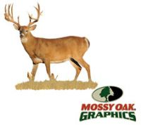 Wall Graphic (Broadside View of Whitetail Buck) by Mossy Oak Graphics