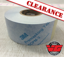"3M 680CR Reflective Blue 3""x50YD Roll Striping"