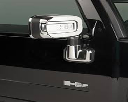 PUTCO 400025 2003-2005 Hummer H2 Chrome Trim Mirror Covers