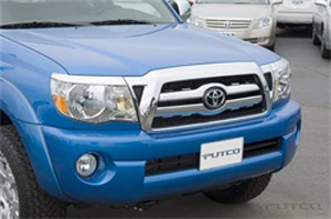 PUTCO 400521 2005-2010 Toyota Tacoma Two Center Chrome Bars Trim Grille Covers