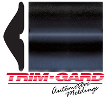 1 7/8 in. Universal Textured Black Truck Body Side Molding by Trim-Gard