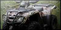Camouflage kits for your ATV or Utility Off Road Vehicle