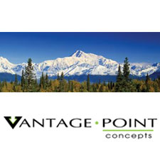 National Geographic - Alaska Range Denali Truck or SUV Rear Window Graphic by Vantage Point Concepts