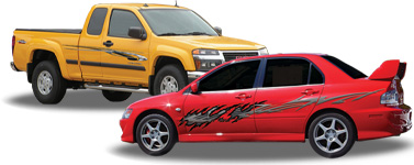 Vehicle Graphics Vehicle Graphics By Style - Custom vinyl graphics for cars