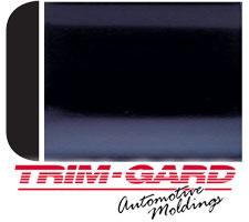 Black, 50 Feet Trim-Gard 2 All Chrome Body Side Molding