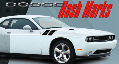 Vehicle Graphics Universal Products Dodge Challenger