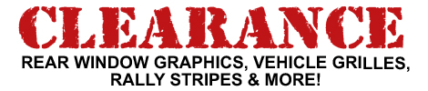 Clearance Graphics & Accessories