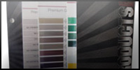 Universal Products Striping Vinyl Color Chart