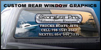 Custom Rear Window Graphics