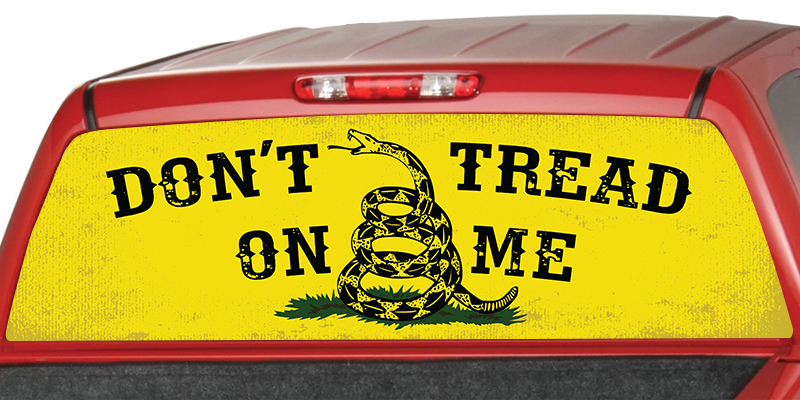 Don't Tread on Me Retro Bold