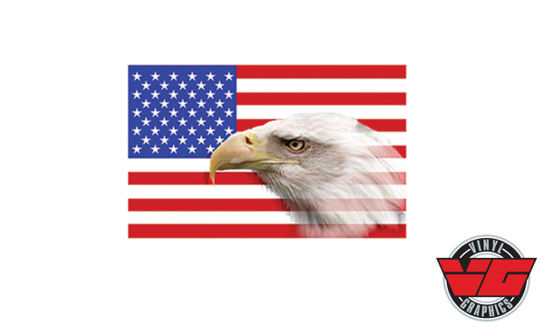 Vehicle Graphics Car Decals Amp Stickers Patriotic Eagle