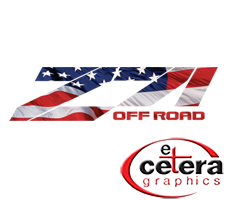 Patriotic Z71 Off Road Truck Decals by Etc. Graphics