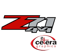 Z71 4x4 Truck Decal by Etc. Graphics