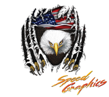 Eagle Tear Vehicle Graphics by Speed Graphics