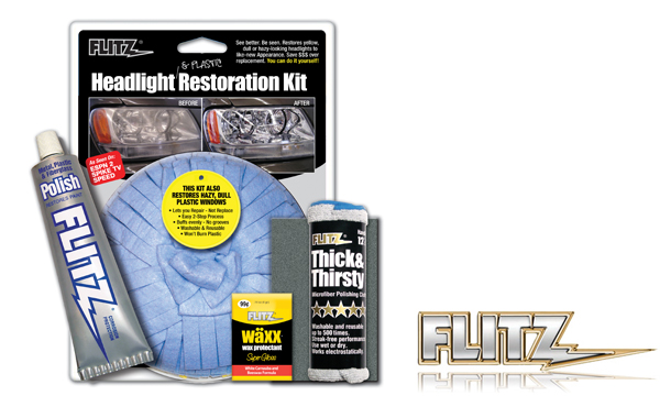 Vehicle Graphics Clearance Products Flitz Headlight