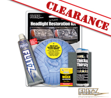 Flitz Headlight & Plastic Restoration Kit