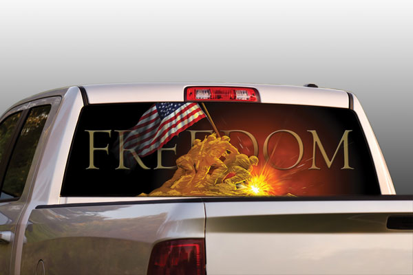Vehicle Graphics Rear Window Graphics Original Series