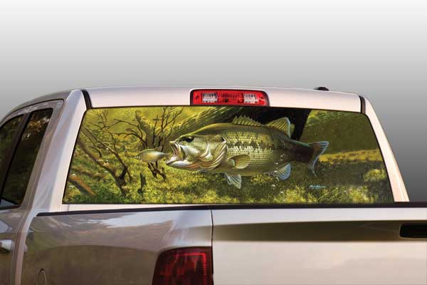 Vehicle Graphics Rear Window Graphics Wild Wings