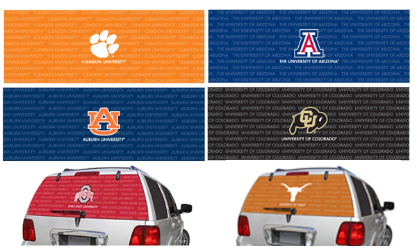 Vehicle Graphics Sports Teams Mlb Nfl Nba Ncaa
