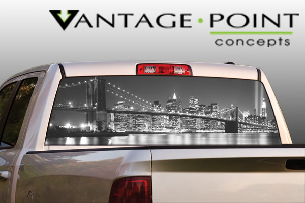 Vehicle Graphics Rear Window Graphics Original Series