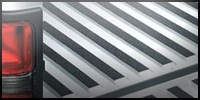 Nonskid slip-resistant textured roll striping