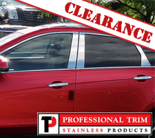 2014 Cadillac SRX 6 Piece Stainless Steel Pillar Posts