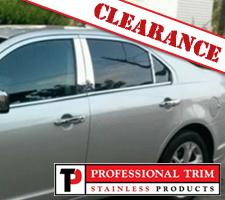 2010 Ford Fusion 6 Piece Stainless Steel Pillar Posts