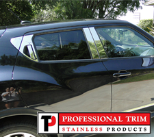 Professional Trim 11-Up Nissan Juke Stainless Steel Pillar Posts