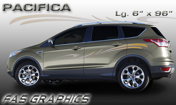 Vehicle Graphics Graphics By Style Pacifica Car And