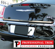 Professional Trim 11-Up Chrysler 300 Stainless Steel Lower Trunk Trim