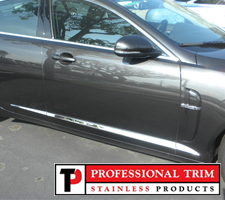 Professional Trim 09-11 Jaguar XF Stainless Steel Accent Trim