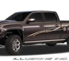Vehicle Graphics Illusions - Auto graphics for carillusionsgfx custom automotive graphics