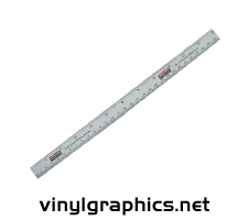 12 Inch Magnetic Ruler
