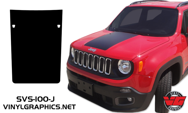 Vehicle Graphics Rally Stripe Decals 2015 Jeep