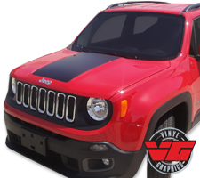 2015 Jeep Renegade Hood Blackout Graphic