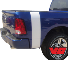 2015 Dodge Ram Solid Bed Band Stripes