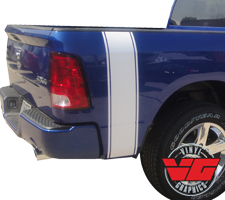 2015 Dodge Ram Pinstripe Bed Band Stripes