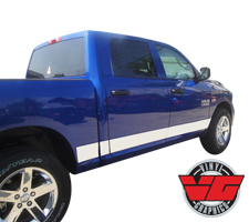 2015 Dodge Ram Solid Rocker Panel Stripes