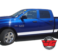 2015 Dodge Ram Pinstripe Rocker Panel Stripes
