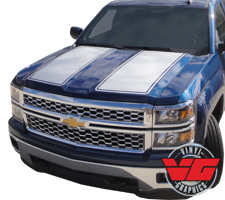 2015 Chevy Silverado Hood/Tailgate Rally Stripe Kit