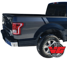 2016 Ford F-150 Rear Quarter Bed Stripes