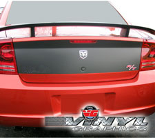 Dodge Charger Solid Trunk Black-out Graphic