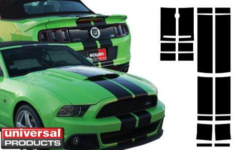 Vehicle Graphics 2013 2014 Mustang Convertible 2013