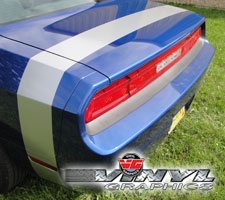 Dodge Challenger Solid Tail Stripe